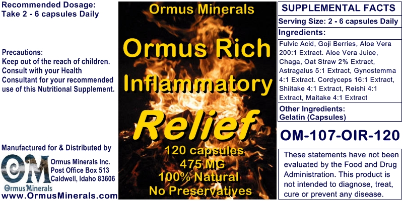 Ormus For Women - Ormus Minerals-Nutrition Supplement Capsules